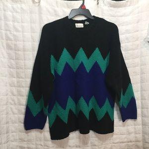 Vintage oversized sweater L